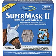 SuperMask II Arabian Horse Fly Mask With Ears-CLASSC ARB FLYMSK W/EARS