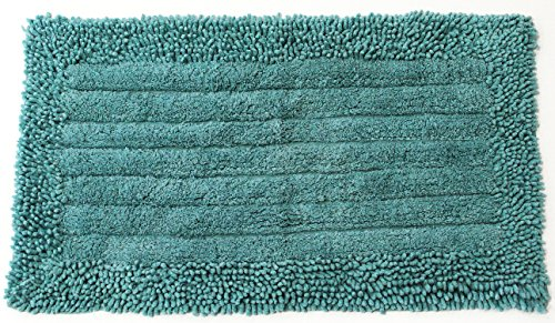 Pam Grace Creations Bath Rug, Aqua - 1