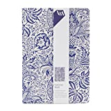 Navy Paisley Exercise Book