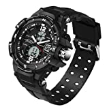 Sanda Is Good Quality 50M Waterproof Pointer Double LED Displays Sports Watch