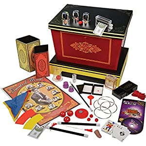 CP Toys Deluxe Legends of Magic Set with Plush Rabbit and 250 Tricks