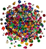 Lots Of Mixed Sequins Assorted Shapes Colours And Sizes