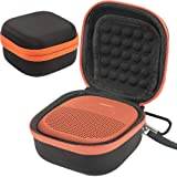 CASE Cover Compatible with Bose SoundLink Micro Bluetooth Speaker by COMECASE - Black (Color: Black, Tamaño: Small)