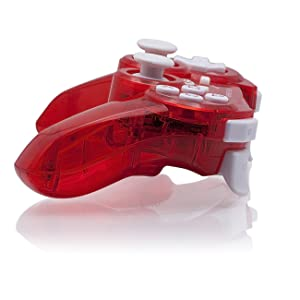 PDP Rock Candy Wireless Controller, Red - PlayStation 3 (Color: Red)