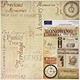 "Honoring The Past Scrapbook Page Kit 12""X12""-"
