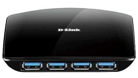D-Link DUB-1340 HUB 4 ports USB 3.0 USB Noir
