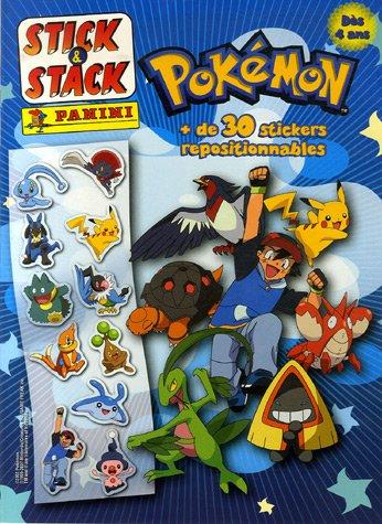 Pokmon-de-30-stickers-repositionnables-Stick-Stack