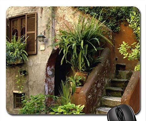 piazza-arco-degli-acetari-rome-mouse-pad-mousepad-houses-mouse-pad