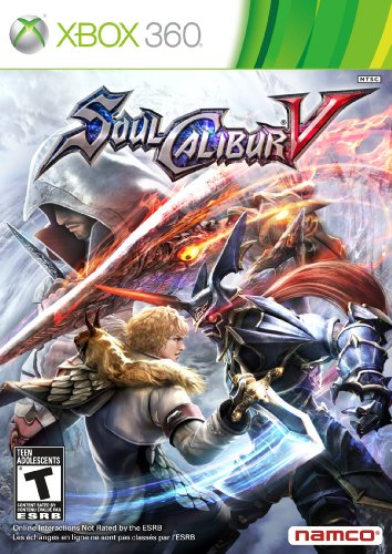 Soul Calibur V on PS3, X Box 360