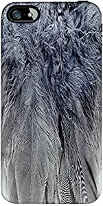 Snoogg Feathers 2 Texture Designer Protective Back Case Cover Forapple Iphone...