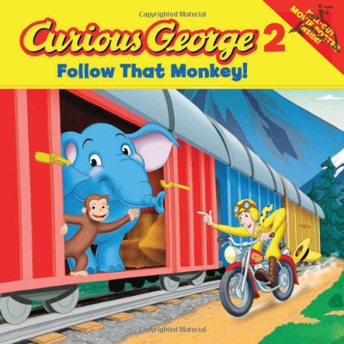 Curious George 2: Follow That Monkey! (Curious George Green Light Reader - Level 1 (Quality))