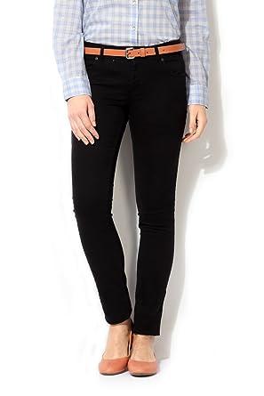 Van Heusen Women's Pleat-Front Jeans at amazon