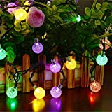 Dephen-Solar-Crystal-Ball-String-Lights-197-ft-30-LED-Waterproof-Globe-Fairy-Christmas-Solar-Powered-String-Lights-for-Garden-Yard-Patio-Christmas-Tree-Party-Home-Decoration