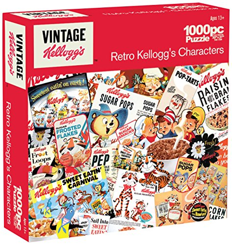 Karmin International Kelloggs Retro Kelloggs Characters Puzzle (1000-Piece)