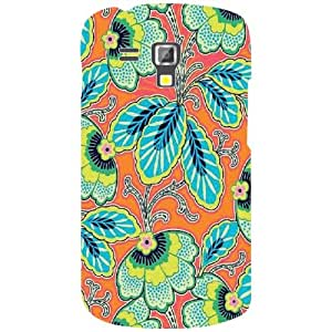 Back Cover For Samsung Galaxy S Duos 7562 (Printed Designer)