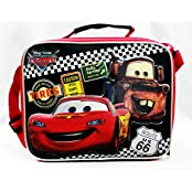 Lunch Bag - Disney - Cars Tires Black Boys School Case New A05360