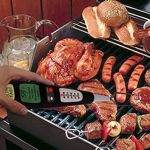 Cheapest Prices! Premium Instant Read Digital Meat Thermometer - Internal Preset Cooking Settings