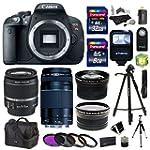 Canon EOS Rebel T5i 18.0 MP Digital S...
