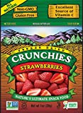 Crunchies Freeze-Dried Fruit Snack, Strawberries, 1 Ounce Pouch