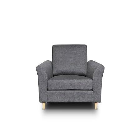 Polstersessel Werona, Design Sessel Armsessel Armsofa Relaxsessel Loungesessel Ohrensessel, Wohnzimmer (Hugo 96)