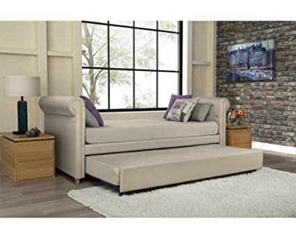 Best Trundle Sofa Bed DHP Sophia. This Beautiful and Modern Sofa Will Be Amazing Detail for Your Interior! This Upholstered Comfortable Couch with Hide Fold Out Sleeper Daybed Is Excellent Choice for Your Living Room or Even Teenagers Bedroom.