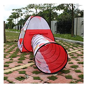AGPtek® Kids Pop up Tent Tent Find me Play Tent And Tunnel For Child by AGPtek