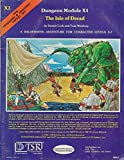 The Isle of Dread (D&D Fantasy Roleplaying, Expert Set, Module X1, Book+Map(s)