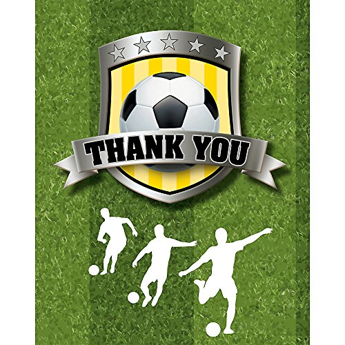 Soccer Party Thank You Notes (8 pack)