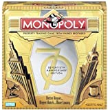 Monopoly Game 70th Anniversary Edition by Milton Bradley