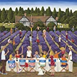 Wentworth New Jigsaw Puzzle 200 Pieces Louise Braithwaite - Lavender Lunch