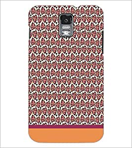 PrintDhaba Heart Pattern D-1925 Back Case Cover for SAMSUNG GALAXY S5 (Multi-Coloured)