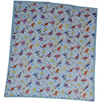 Aarushi Medium Baby Blue Spongy Plastic Chaining Mat(ARSH_60)(color May Vary)