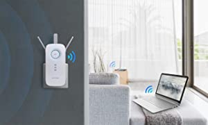 TP-Link AC1750 WiFi Range Extender with High Speed Mode and Intelligent Signal Indicator (RE450) (Renewed) (Tamaño: AC1750)