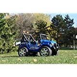 Ride On Ecar. Jeep Wrangler Style Battery Operated Ride On Toy Car For Kids With Remote Control - B01AFZMLKG
