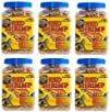 6 Zoo Med Sun Dried Large Red Shrimp 5oz Cans