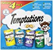 WHISKAS TEMPTATIONS Variety pack, 12-Ounce