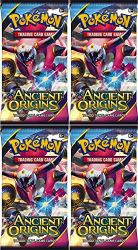 Pokemon-Trading-Card-Game-XY-Ancient-Origin-Sealed-Booster-Pack-x-4