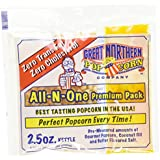 Great Northern 4099 GAP 2.5 OZ POPCORN Case (24) of Two and a Half Ounce Portion Packs