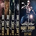 Hades' Spawn MC Complete Series: Bad Boy Motorcycle Club Romance Audiobook by Lexy Timms Narrated by Hannah Pralle