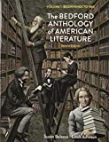 img - for Bedford Anthology of American Literature, 2e V1 & Benito Cereno by Susan Belasco (2013-07-12) book / textbook / text book