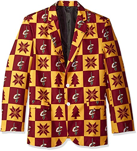 Cleveland Cavaliers Patches Ugly Business Jacket