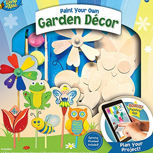 MasterPieces Works of Ahhh Garden Dcor Paint Kit