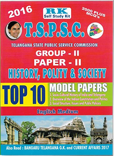 TSPSC GROUP-II Paper-II History, Polity & Society Top 10 Previous Papers RKP