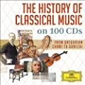 A HISTORY OF CLASSICAL MUSIC (DG box set)