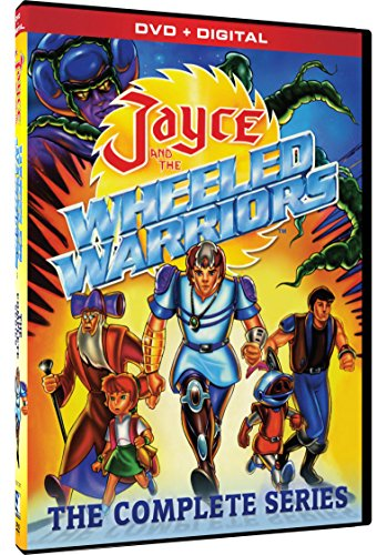 DVD : Jayce and the Wheeled Warriors: The Complete Series (Digital Download Card, 5 Disc)
