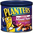 Planters Mixed Nuts, Unsalted, 11.5-Ounce Packages (Pack of 4)