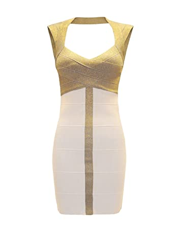 Envy Boutique New Women's Glitter Gold Top Pencil