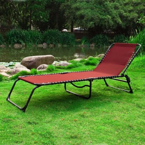 chaise longue bain de soleil transat de jardin pliante. Black Bedroom Furniture Sets. Home Design Ideas