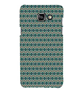 iFasho Animated Pattern colrful tribal design Back Case Cover for Samsung Galaxy A7 A710 (2016 Edition)