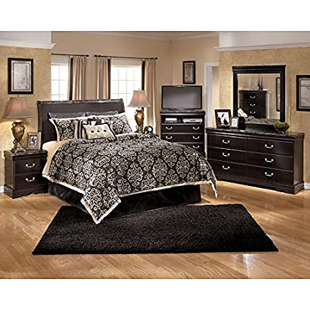 Esmarelda Sleigh Headboard Bedroom Set Queen